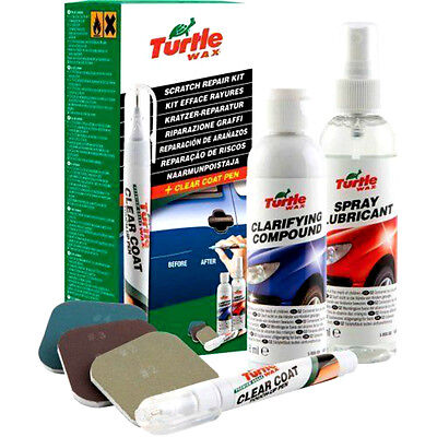 New Turtle Wax Car Paint Scratch Repair Kit Scratch Remover FG6772