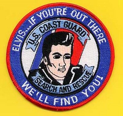 Coast Guard Search And Rescue Elvis Patch