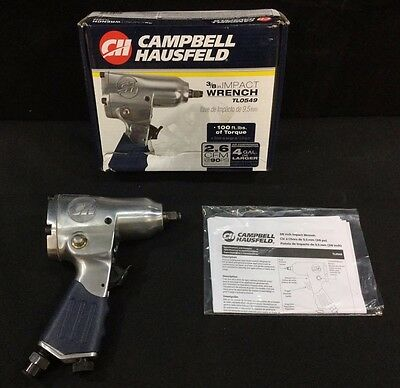 """Campbell Hausfeld 3/8"""" Impact Wrench - Model TL0549 *FREE Shipping"""