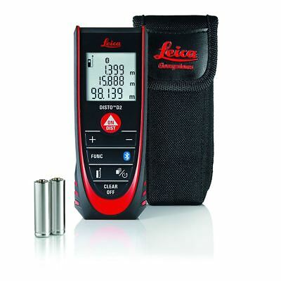 Leica Disto D2 BT Bluetooth Laser Distance Measurer 100m Range 837031