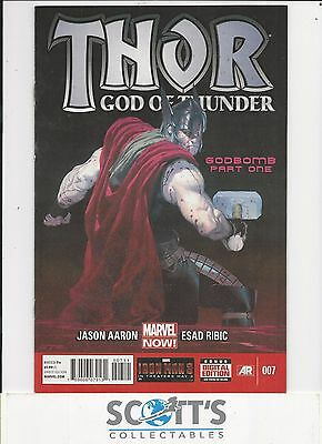 Thor God Of Thunder  #7  Vf+