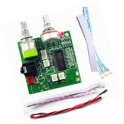 1PCS 5V Dual channel 20W Class D Stereo Digital Amplifier Board Amp NEW