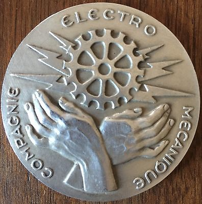 MEDAL - FRANCE - COMPAGNIE ELECTRO MECHANICAL - SILVER Quality : SUP