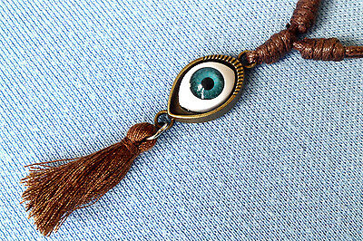 Evil Eye Pendant Mens Womens Boys Girls New Age Hippie Necklace N0445