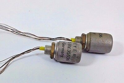 2 Pcs BEYER Dynamic TR 45 BV.35536  MC Step Up Input Microphone Transformer