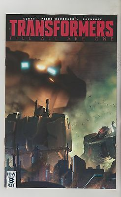 Idw Comics Transformers Til All Are One #8 March 2017 1St Print Nm