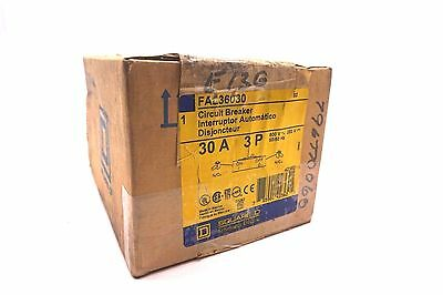 New Sealed Square D Fal36030 Circuit Breaker