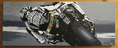 Valentino Rossi 46 The Doctor Original Painting
