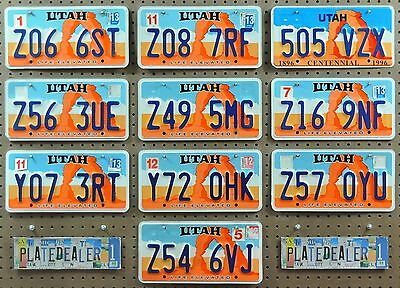 10 UTAH Life Rock Arch License Plates Tags Art Man Cave Hobbies Signs LOT 066