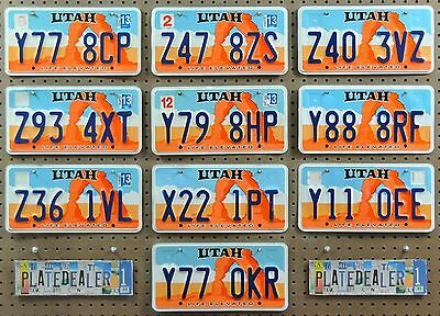 10 UTAH Life Rock Arch License Plates Tags Art Man Cave Hobbies Signs LOT 778