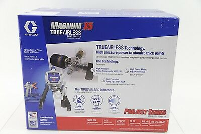 New Graco Magnum x5 Airless Electric Airless Paint Sprayer 262800