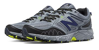 New Balance 510v3 Trail Mens Shoes Grey with Navy