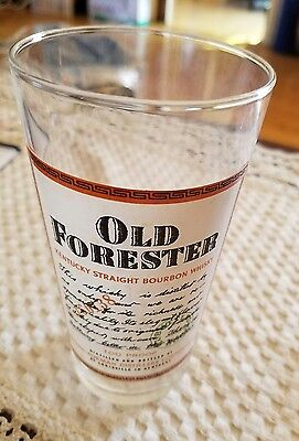 """Old Forester Kentucky Straight Bourbon Whiskey 5.5"""" Glass"""