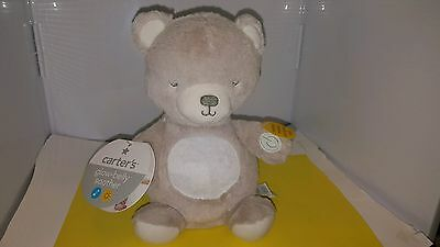 CARTERS Glow Belly Soother Soothing Baby Musical Crib Toy Lihts Lullaby Bear.