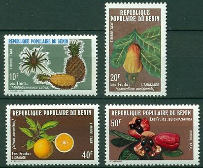 Benin Scott #J44-J47 MNH Fruits Flora $$