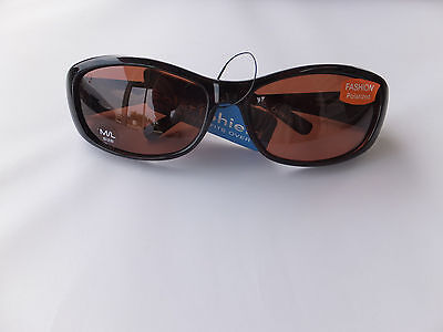 Solar Shield Fashion Polarized Sunglasses Fits Over Glasses Size Medium/Large
