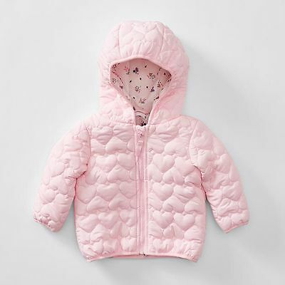 NEW Baby Quilted Parker - Pink