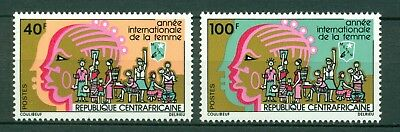 Central African Republic Scott #246-247 MNH Int'l Women's Year IWY $$