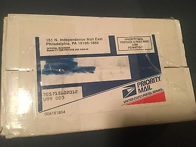 1999 P & D US Mint Uncirculated Coin Sets in sealed priority mail box