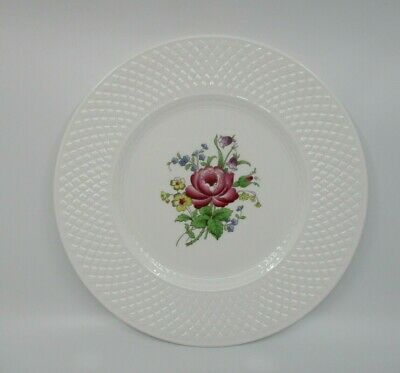 "Spode Billingsley Rose Dinner Plate- 10 5/8"" 1002Hs"
