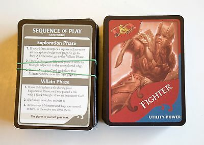 Dungeons and Dragons Legend of Drizzt Replacement Cards