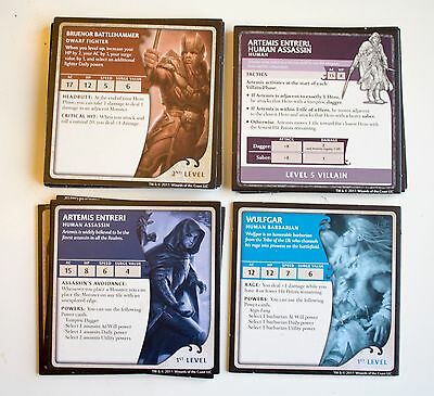 Dungeons and Dragons The Legend of Drizzt Board Game Character Cards 20pcs