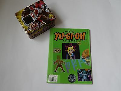 Yu-Gi-Oh Beckett Collector Book And Empty Turbo Warrior Trading Card Tin