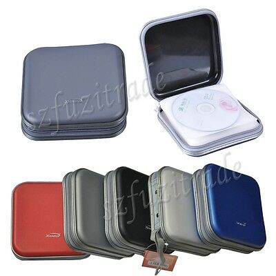 Portable CD DVD Discs Storage Case Wallet Bag Organizer Holder Protect Box BJ