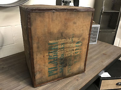 Tea Chest Crate