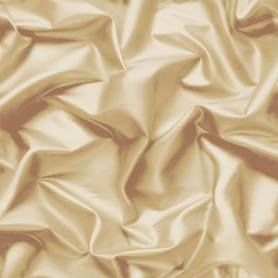 Muriva Gathered Silk Effect Wallpaper Gold - F72907 (F729-07) Coffee Cream Beige