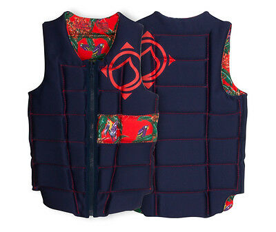 2017 Liquid Force Melody Ladies Wakeboard Impact Vest, Small, Tropical 48875