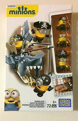 Minions Mega Bloks Shark Bait Building Blocks Despicable Me