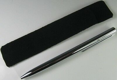 New Genuine Volkswagen Slimline Silver Pen