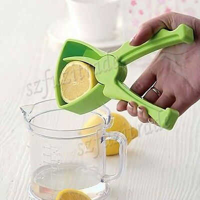 Manual Juicer Fruit Orange Lemon Citrus Juice Squeezer Maker Hand Held Tool BJ
