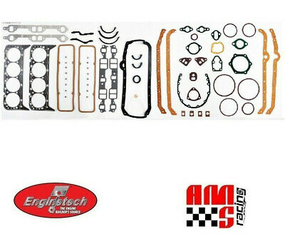 Gm Chevy High Performance Full Complete Gasket Set 5.7L 350 383 2 Piece Seal