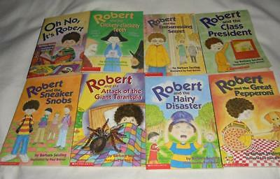 HUGE set of 8 Robert and the....series books by Barbara Seuling