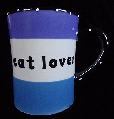 CAT LOVER Mug Large 20 oz. ~ FREE SHIPPING