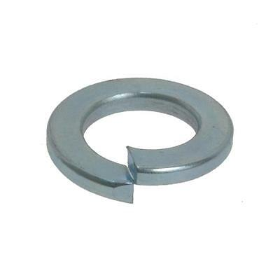 Spring Washer M4 (4mm) x 7.6mm x 0.9mm Metric Flat Section Zinc Plated