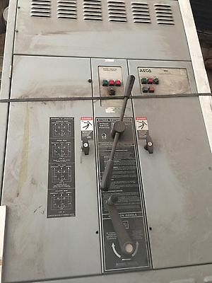 ASCO Automatic Transfer Switch 1200 amp By Pass-Isolation Switch