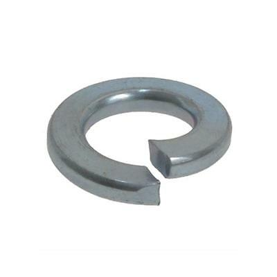 "Spring Washer 1/4"" x 3/32"" Imperial Flat Section Zinc Plated"