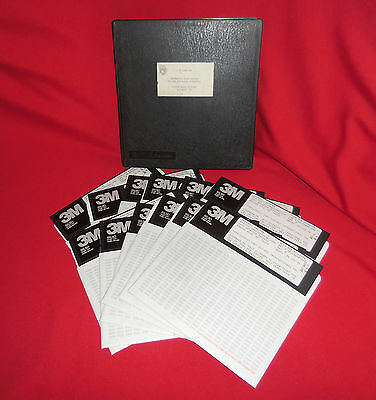 "12 DIT-MCO 8"" Disks Automatic Test System System Software Diskettes DATE: 1984"