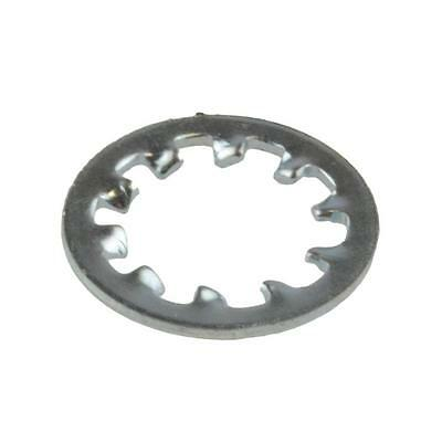 Internal Tooth Lock Washer M10 (10mm) Metric Star Steel Zinc Plated