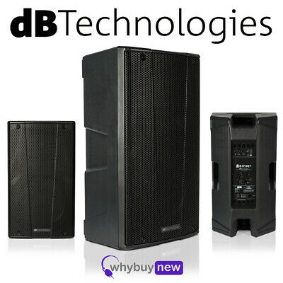 """db Technologies B-Hype 15 Active Powered 15"""" Portable DJ Disco Stage PA Speaker"""