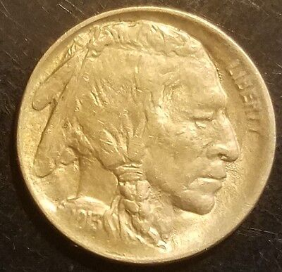 1913 Variety 1 Buffalo Nickel Coin VF