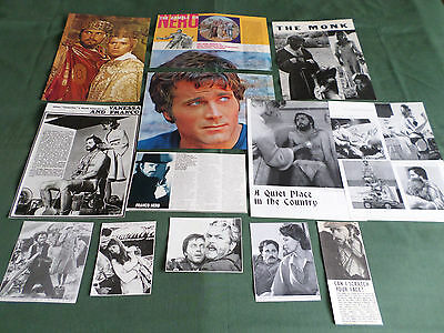 Franco Nero - Film Star - Clippings /cutting Pack