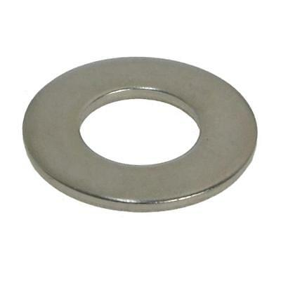 "Flat Washer 3/8"" x 1 x 16g Imperial Round Stainless Steel G304"