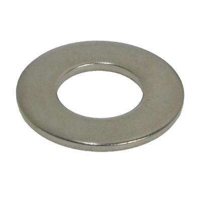 "Flat Washer 7/16"" x 1.1/8 x 16g Imperial Round Stainless Steel G304"