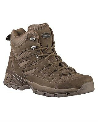 SQUAD Stiefel 5 Inch braun, Camping, Outdoor, Military -NEU-