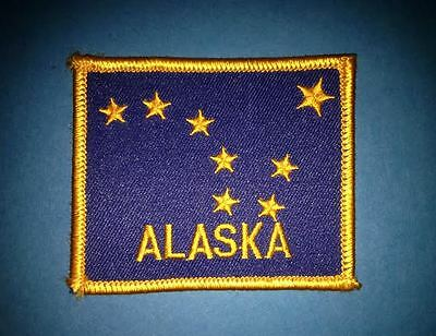 Rare Alaska Iron On Hat Jacket Vest Backpack Travel Patch Crest E