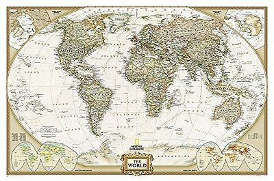 World by National Geographic Maps New Sheet map Book